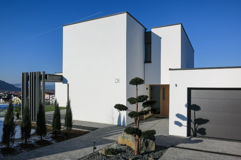 Privater Hausbau